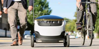 Роботы-курьеры получили «разрешение на работу» в Вирджинии