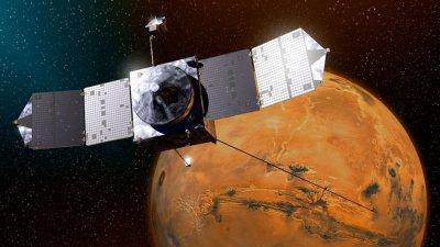 Космический аппарат NASA чуть не столкнулся с одним из спутников Марса