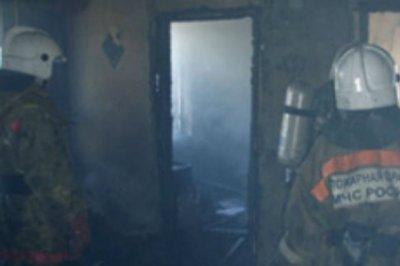 Девушка погибла во время пожара в частном доме под Ростовом