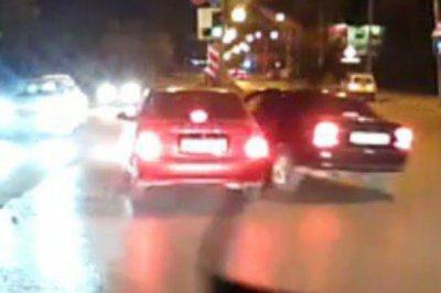 Водитель «Опеля» скрылся после двух аварий на Днепровском