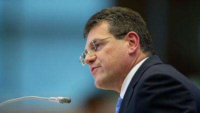 Вице-президент ЕК провел встречу с новым министром энергетики США Перри