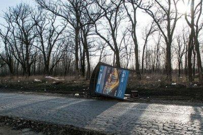 Ветер снес остановку в Суворовском микрорайоне Ростова