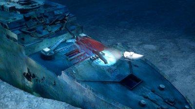 Компания OceanGate создаст полный 3D-скан затонувшего «Титаника»