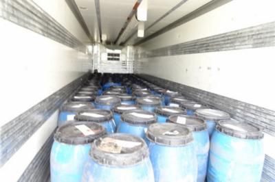 Таможенники Таганрога перехватили фуру с хлороформом