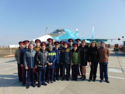 Воспитанники районной школы юного атамана «Сполох» побывали в Морозовске