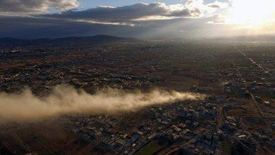 Боевики ведут беспорядочный огонь по мирным кварталам Дамаска