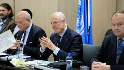 Де Мистура в субботу продолжит обсуждать в Женеве борьбу с терроризмом