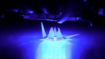 Создан материал, способный менять форму при воздействии света
