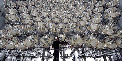 Да будет свет: немецкие ученые создали самое большое в мире «искусственное солнце»