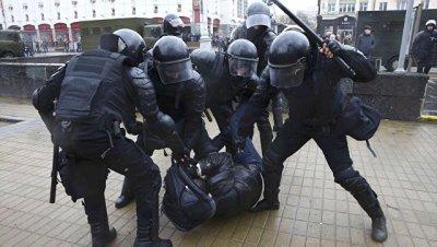 Милиция не дала оппозиции провести акцию в центре Минска