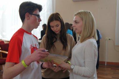 Около 100 представителей белокалитвинской молодежи посетили площадку «Молодежная команда губернатора»