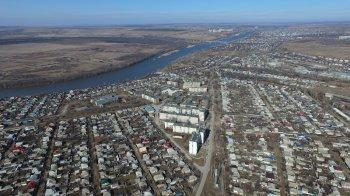 Видео съёмка города Белая Калитва с высоты птичьего полёта