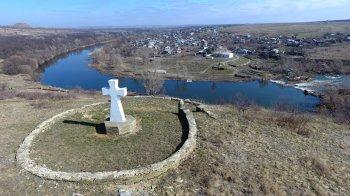 Хутора Погорелов и Крутинка - вид с высоты птичьего полёта