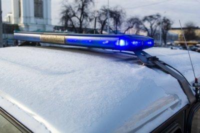 Сегодня в Ростове патрульная машина ДПС врезалась в отбойник