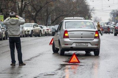 Целая серия ДТП произошла вчера в Ростовской области