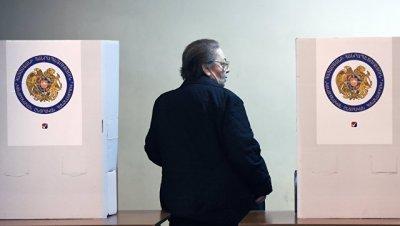 В Армении закрылись избирательные участки на парламентских выборах