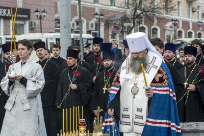 В Ростове состоялась панихида по погибшим при теракте в питерском метро