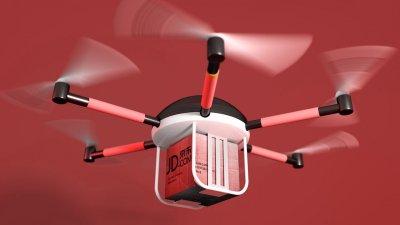 Интернет-магазин JD.com построит в Китае порты для дронов
