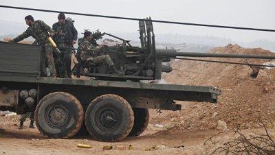 Сирийская армия разгромила позиции