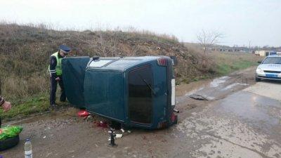 В Белой Калитве произошла авария, водитель госпитализирован.