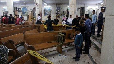 Полиция установила личность смертника, подорвавшего церковь в Египте