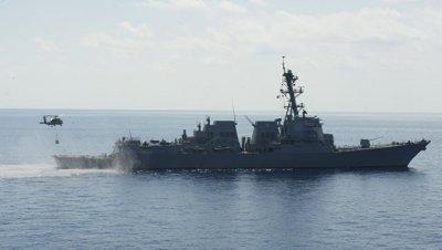 США направили ракетный эсминец в Южно-Китайское море