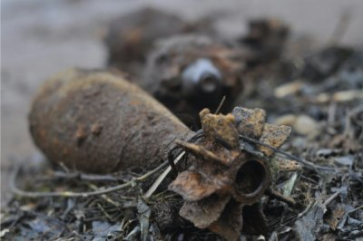 В Белой Калитве обнаружили мину времён Великой Отвечественной Войны!