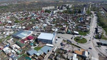 Полёты над городом Белая Калитва - от автовокзала до ЖД