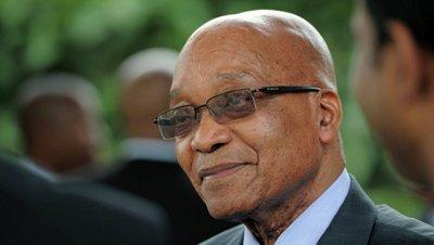 Толпа не дала президенту ЮАР выступить на первомайском митинге