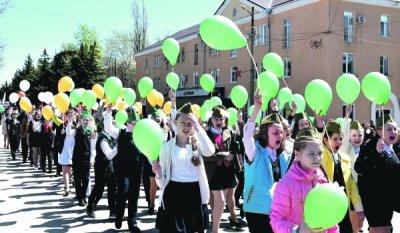 В Шолоховскоп прошли демонстрации школьников