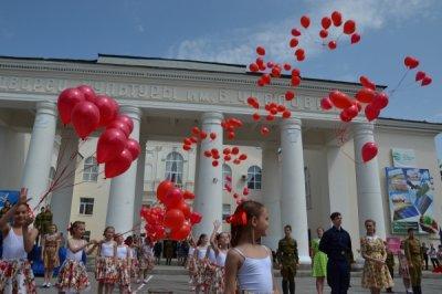 Белокалитвинская молодежь приняла участие в акции, посвященной 72-й годовщине Победы