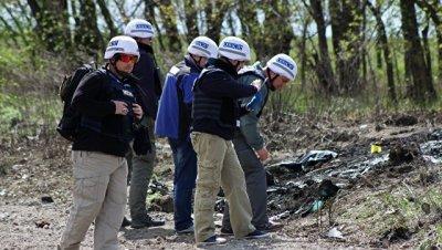 ЛНР: съемка подрыва машины ОБСЕ велась с подконтрольной Киеву территории