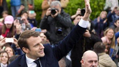 Глава ЕП первым поздравил Макрона с победой на выборах президента Франции