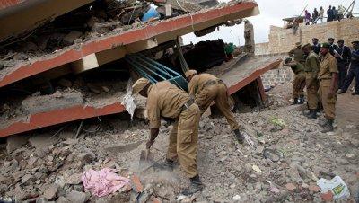 В кенийской больнице рухнула стена, погибли четыре ребенка и двое взрослых