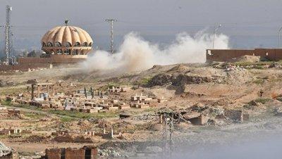 ВВС Сирии нанесли массированный удар по ИГ* в провинции Дейр-эз-Зор
