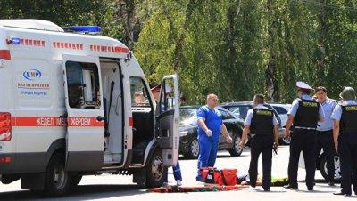 На юге Казахстана обрушилась труба ТЭЦ, один рабочий остается под завалами