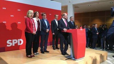 Шульц прокомментировал поражение СДПГ на выборах в Северном Рейне-Вестфалии