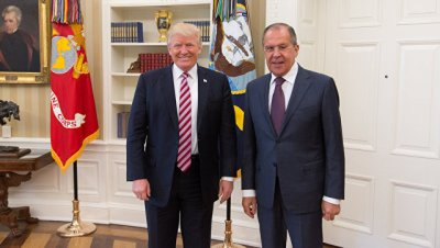 Лавров рассказал, что около часа обсуждал с Трампом сирийскую проблему