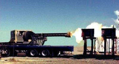 General Atomics провела первые стрельбы управляемыми снарядами из рельсотронной пушки