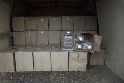 На границе с Украиной донские силовики пресекли контрабанду 2,5 тонны спирта
