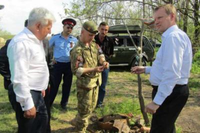 Останки 36 советских солдат нашли под Ростовом