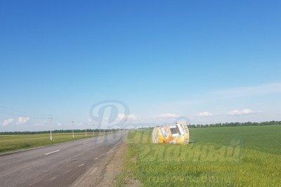 В полях Ростовской области потеряли ларек для продажи кваса