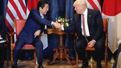 Абэ и Трамп договорились координировать усилия по давлению на КНДР