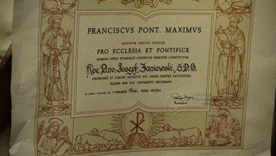 Папа наградил российского священника золотым крестом за служение Церкви