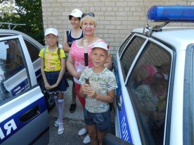 Белокалитвинские школьники побывали на экскурсии в отделении ГИБДД