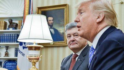 Порошенко и Трамп обсудили конфликт в Донбассе и коррупцию на Украине