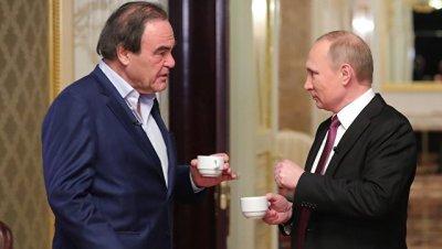 Путин заявил, что документальный фильм Стоуна делался на ходу