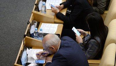 Депутатам запретили телефоны на заседании ГД с участием директора ФСБ