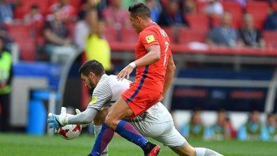 Сборные Чили и Австралии сыграли вничью в 3-м туре Кубка конфедераций