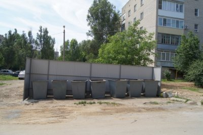 Проведена реконструкция трех контейнерных площадок в Белой Калитве